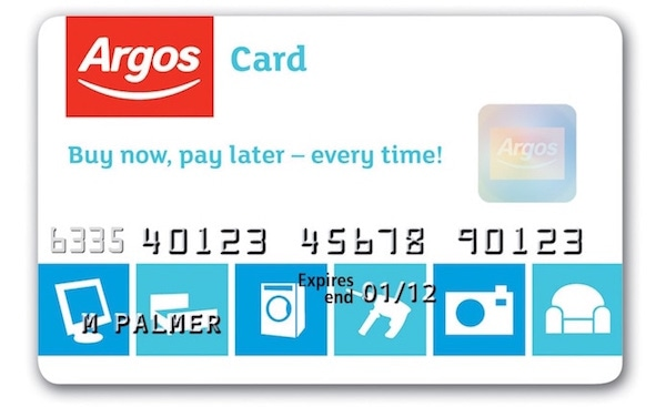 Buy Now Pay Later with an Argos catalogue account