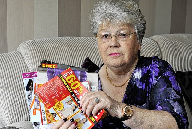 78-Year old widow loses thousands in catalogue mail order scam